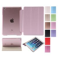 Wholesale Dust proof 3 Folios PU leather ipad air 2 protective case with Sleep wake for ipad 6 from china suppliers