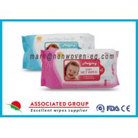 Wholesale Baby Wet Tissue Wipes / Individual Flushable Moist Wipes for Travel from china suppliers