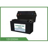 Wholesale Lithium Smart 12V 200Ah UPS Rechargeable Batteries With Bluetooth Connection from china suppliers