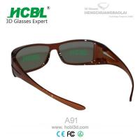 Wholesale Adult IMAX 3D Glasses In Black , cool 3d glasses for computer from china suppliers