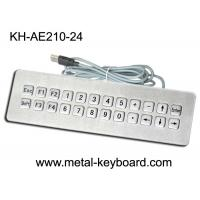 Wholesale IP65 Rated waterproof computer keyboard , water resistant keyboard 24 Keys from china suppliers