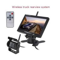 Wholesale Wireless CMOS Truck Reverse Rear View Camera with 7 inch LCD monitor from china suppliers