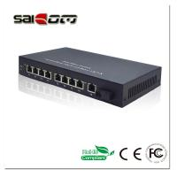 Quality 100Mbps 1FX+8FE Ports Fast Ethernet Network POE Switch for sale