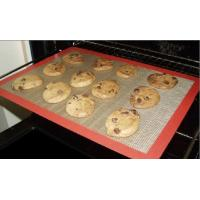 Quality Easy clean fiberglass silicone baking mat for sale