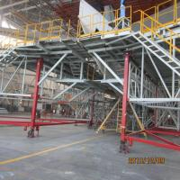 Wholesale Tail Dock High Tensile Aircraft Scaffolding with Ring lock Horizontal Stabilizer / Vertical Stabilizer from china suppliers