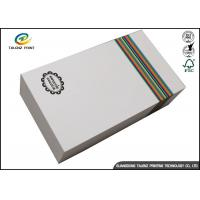 Wholesale Customized Paper White Cardboard Gift Boxes For Apparel Packaging Manufacture from china suppliers