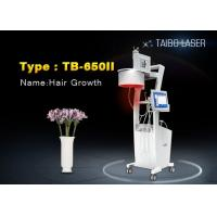 Wholesale Cold Laser Therapy 650nm Diode Laser Hair Growth Machine Touch Screen for Hair Loss Therapy from china suppliers