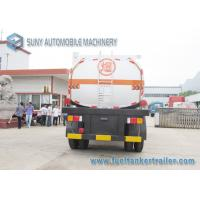 Quality International DoubleFull Axle 15000L Oil Tank Trailer Or Chemical Liquid for sale
