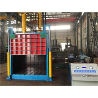 Wholesale Semi - Automatic Vertical Baler Machine For Cardboard , Manual Valve Operation from china suppliers