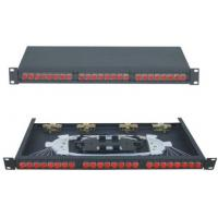 Wholesale GPZ /RM - SC12 FC24 Rack-Mounted Fiber Optic Patch Panel 480 * 250 * 1U from china suppliers