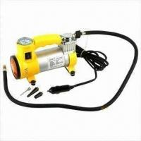 Wholesale Metal DC 12V Mini Air Compressor with 12V Voltage, 350psi Pressure and Full Metal Cover from china suppliers