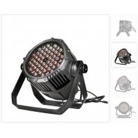Buy cheap Outdoor 54 * 3W RGBW LED Par Can Lights 50000 Hours Life Span from wholesalers