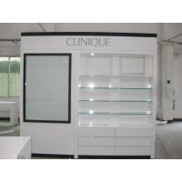 Wholesale Glass Cosmetics Cabinets Made by Wood with LED Lightings from china suppliers