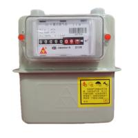Wholesale Intelligent Diagram Commercial Gas Meter , G4 Steel Case Home Gas Meter With IC Card from china suppliers