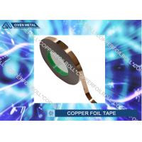 Wholesale 1/4 inch x 55 yds Adhesive Backed Copper Foil Tape Double conductive from china suppliers