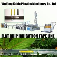 Wholesale 180m/mim Inline Flat Drip Irrigation Tape Making Machine. min thickness 0.15mm KAIDE factory from china suppliers