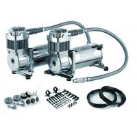 Wholesale Silver Steel Dual Packs Air Suspension Pump For Strong Power And Fast Inflation from china suppliers