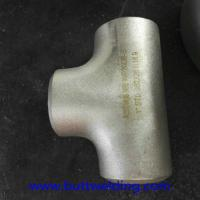 Buy cheap Butt weiding Fittngs 1'' STD N08020 ASME B16.9 Nickel Alloy Steel Equal Tee Pipe Fitting from wholesalers