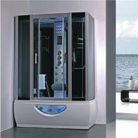 Buy cheap Large Rectangular Shower Enclosure Hydromassage Steam Bath Shower Combination from wholesalers