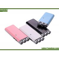 Wholesale 9000mAh 3 Flashlight Power Bank 186G Pink / Black USB Connected For Travel from china suppliers
