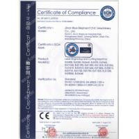Jinan Blue Elephant CNC Machinery Co., Ltd. Certifications
