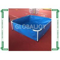 Wholesale Household Large Inflatable Swimming Pool With Metal Holder , EN14960 from china suppliers