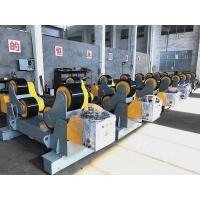 Buy cheap 30T Self Aligning Pressure Vessels Pipe Turning Rolls With Double Motor / PU Wheels from wholesalers