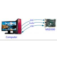 Quality Synchronous Msd300 Led Control Card / Led Display Nova Sending Card for sale