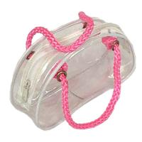 Wholesale Lovely Hello Kitty Small Clear PVC Bag With Zipper For Swimwear from china suppliers