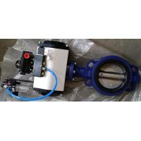 Wholesale DN40 ~DN1800 Pneumatic Butterfly Valve With Ductile Iron / Stainless Steel from china suppliers