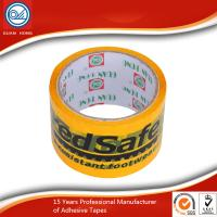 Wholesale black and yellow PVC underground detectable warning tape for hazard warning from china suppliers
