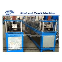 Wholesale Furring Roll Forming Machine 0.5mm - 1.5mm Galvanized Steel from china suppliers