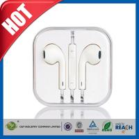 Wholesale Handsfree Stereo iPhone 6 Earphones Earbuds with Remote / Microphone from china suppliers