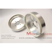 Buy cheap 6'' High cutting action 6A2 vitrified diamond grinding wheel for PCD  -julia@moresuperhard.com from wholesalers