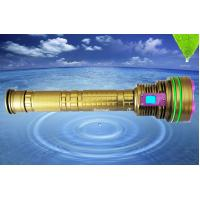 Wholesale DX12 12*XML2 10000LM led dive flashlight, 6500k underwater 100m professional led diving torch from china suppliers