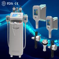 Wholesale New 5 handles cryolipolysis body slimming beauty equipment for clinic in advance from china suppliers