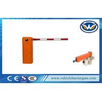 Wholesale Electric Vehicle LED Light Rubber Automatic Parking Lot Barrier Gates With Arm Auto Reverse from china suppliers
