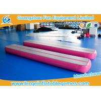 Wholesale 0.9mm PVC Material Inflatable Air Tight Beam Mat Customized Color For Gymnastics from china suppliers