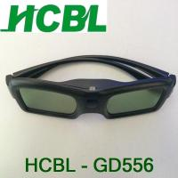 Wholesale Digital Cinema Active shutter 3D Glasses With Viewing Angle Up And Down 30° from china suppliers