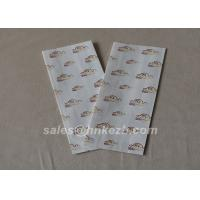 Wholesale Customzied Logo Flat Bottom Fast Food Paper Carry Bag Accessories Disposable from china suppliers