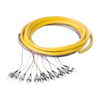 Wholesale OM3 FC OpticalFiberPigtail Cables 12 Core 24 Core for CommunicationNetwork from china suppliers