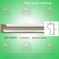 Buy cheap Polyurethane Plain Architectural Panel Decorative Cement Mouldings from wholesalers
