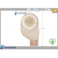 Wholesale Double Guaranteed Adhesion One Piece Ostomy Bag , disposable colostomy bags Cut Size 50MM from china suppliers