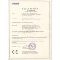 Sunway Amusement Equipment Guangzhou Limited Certifications