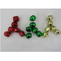 Wholesale green, Red, golden color cross jingle bells christmas jingle bell ornament from china suppliers