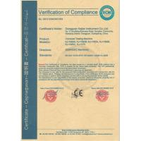 Dongguan Kejian Instrument Co., Ltd Certifications