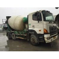 Wholesale 10cbm Hini 700 concrete mixer Truck hino Concrete truck mount Mixer from china suppliers