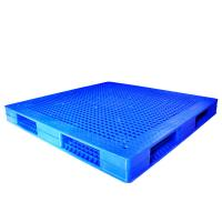Wholesale Durable Blue Reusable Plastic Pallets With Virgin HDPE / Recycled PP from china suppliers