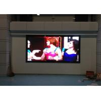 Wholesale High Definition P4 Indoor Advertising LED Signs , led video display panels 1/16 Scan from china suppliers