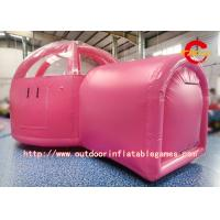 Wholesale Two Rooms Camping Inflatable Tent Bubble / Inflatable Bubble House For Bar from china suppliers